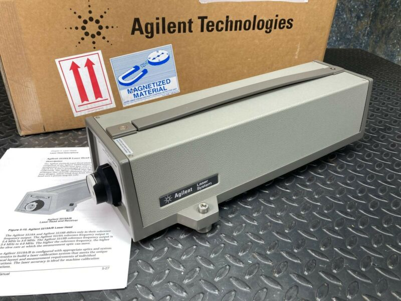 Agilent 5519A HeNe Laser System w/ Built in Receiver & Power Supply