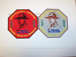 2013-BSA-National-Jamboree-Baden-Powells-BrownSea-Is-Activity-Patches-Coins