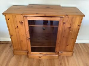ENGLISH WESTMINSTER PINE CABINET $500 ono