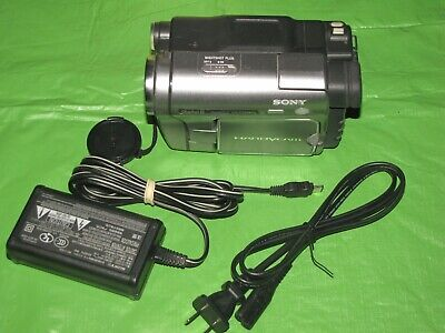 Sony Handycam DCR-TRV280 Digital8 Camcorder -  Record Transfer Watch Play Tapes