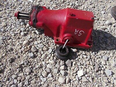 Farmall Super A Sa Tractor Ih Ihc Belt Pulley Drive Assembly Drive Gear