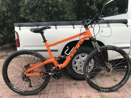 GT VERB ELITE ORANGE 2017 LARGE DUAL SUSPENSION $900 O.N.O