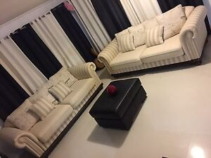 Last one left! Ontario beige and cream lounge - Far Pavilions sofa Robertson Brisbane South West Preview
