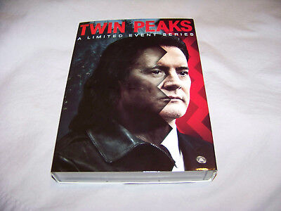 Twin Peaks  A Limited Event Series Dvd  2017  8 Disc Set Free Shipping