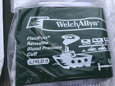Welch Allyn Reusable Bp Cuff Child Size 9 Blood Pressure Reuse-9