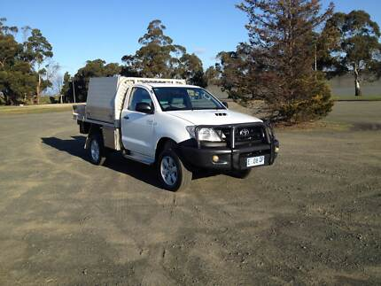 2011 Toyota Hilux Ute 4X4 Diesel Turbo Invermay Launceston Area Preview