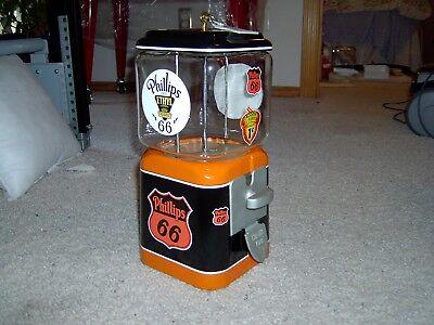 Oak Acorn Phillips 66 Restored Gumball Machine Acorn Embossed Globe RARE!
