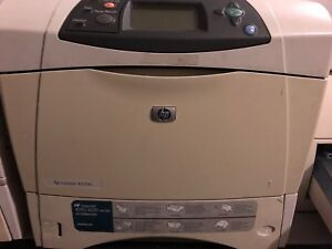 Laserjet hp 4200 with brand new toner (needs fuser and ram)
