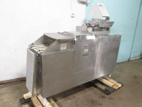 """""""HOBART"""" HD COMMERCIAL CONVEYOR MEAT WRAPPING/PACKING MACHINE w/LABEL PRINTER"""