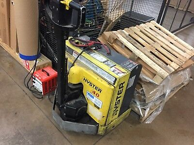 Hyster Electric Pallet Truck W40tx 24v 2 Available