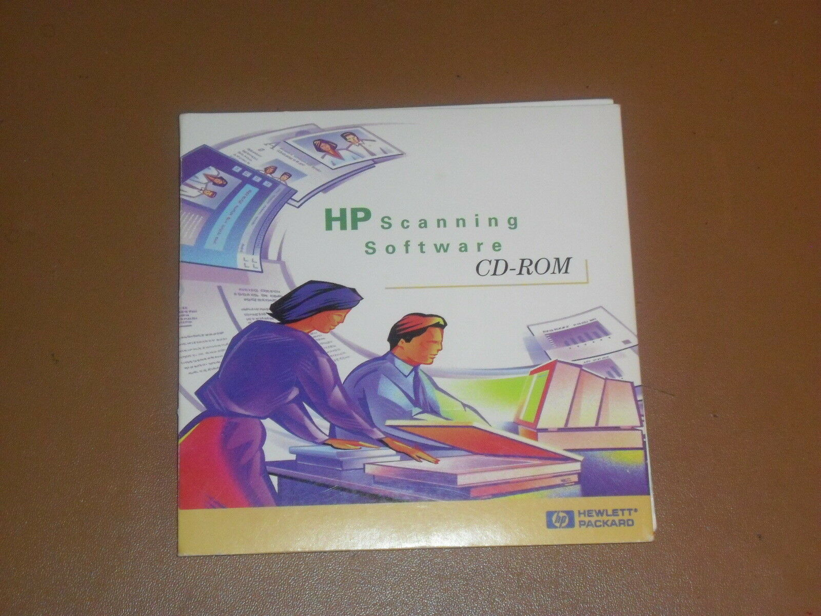 Vintage 1998 HP Scanning Software Precision Scan Pro on CD