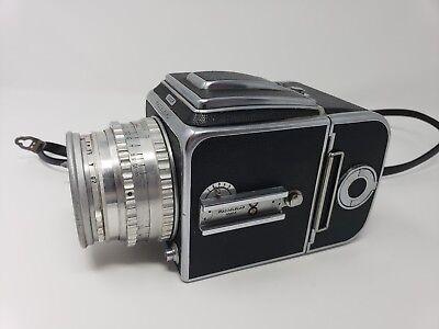 Hasselblad 1000F Medium Format Film Camera w/ Zeiss Tessar 80mm f2.8 Lens