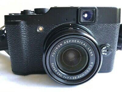Fuji X10 compact camera. A classic. Perfect for street