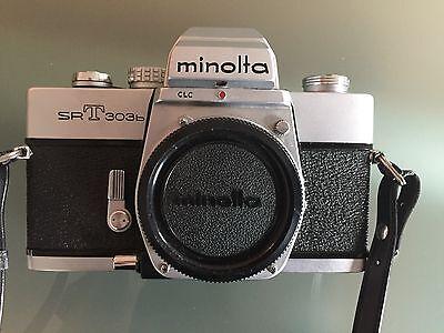 Minolta SRT303b 35mm Spiegelreflexkamera nur Gehäuse