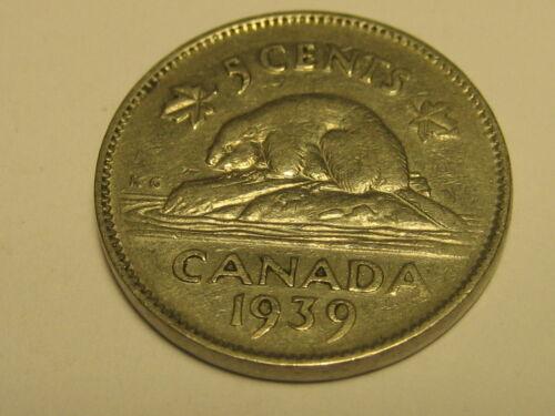 1939 Canadian Nickel