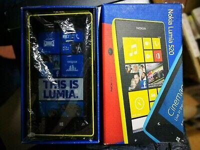Nokia Lumia 520 - NUOVO - Cellulare originale MAI USATO completo di tutto GIALLO na sprzedaż  Wysyłka do Poland