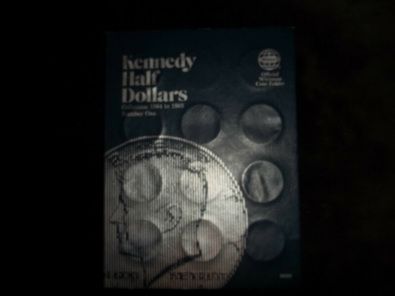 Complete set of BU Kennedy Half Dollars in a Classic Whitman Folder 1964-1985D