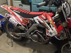 2015 CRF450 never raced