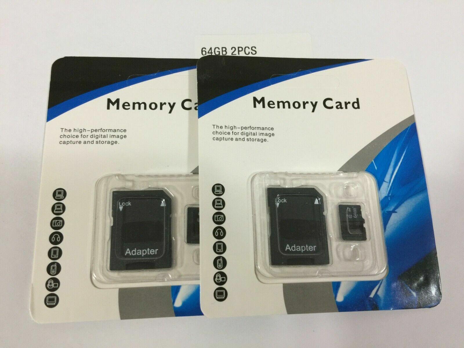 2x 512GB Universal Micro SD SDHC SDXC TF Flash Memory Card C