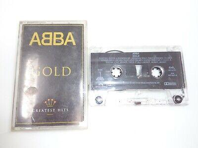 ABBA Gold Greatest Hits Cassette Tape Pop Music