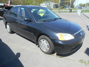 Honda Civic LX 2003 Noir