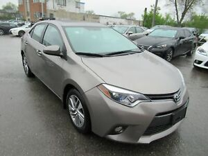2015 Toyota Corolla LEATHER AND NAVIGATION