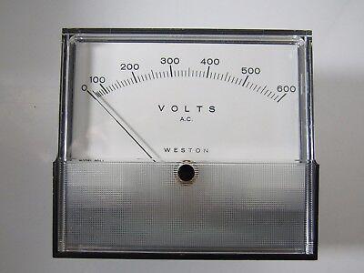 Weston Meter 2044 Range 0-600 V.a.c. 60 Hz