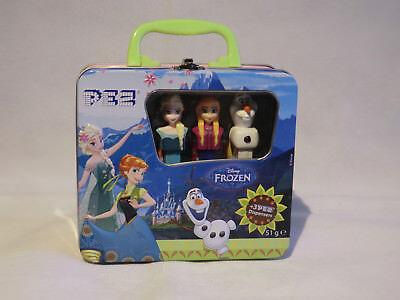 Pez Frozen Disney  3 Stück in Blechkoffer  Neu und OVP  siehe auch  Fotos