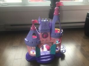 Château Disney princess songs de Little Tikes