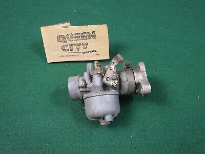 Vintage Bing Small Engine Carburetor With Manifold Briggs-tecumseh-kohler