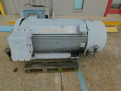 Siemens Electric Motor 500 Hp 3580 Rpm 5810s Frame 23004000 Volts Induction