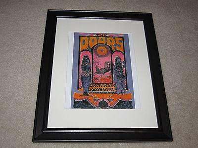 Framed The Doors Concert Mini Poster, 1967 Sacramento, 14