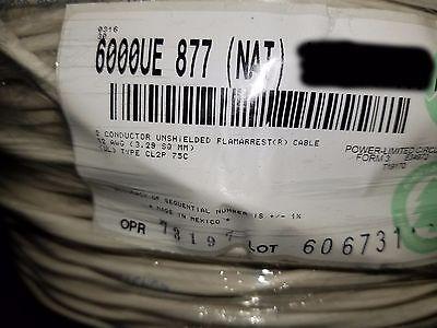 Belden Wire 6000ue 122c Media Controlspeakeraudio Cable Plenum Usa Nat100ft