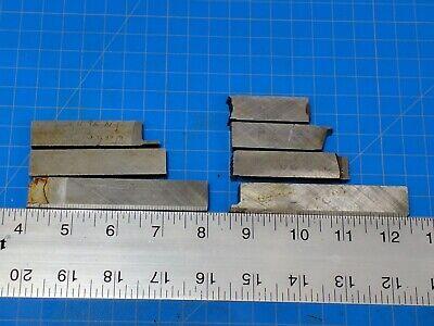 Lot 7 Haynes Stellite 98m2 Alloy Lathe Tool Bit Blanks 38 X 58 Inch Gunsmith