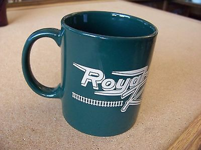 Royal Gorge Route Railroad porcelain mug coffee cup green Colorado