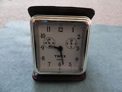 Vintage Timex Quartz Travel Alarm Clock