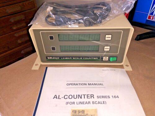 MITUTOYO LINEAR SCALE COUNTER CODE NO.164-658A MODEL AL-325L NEW