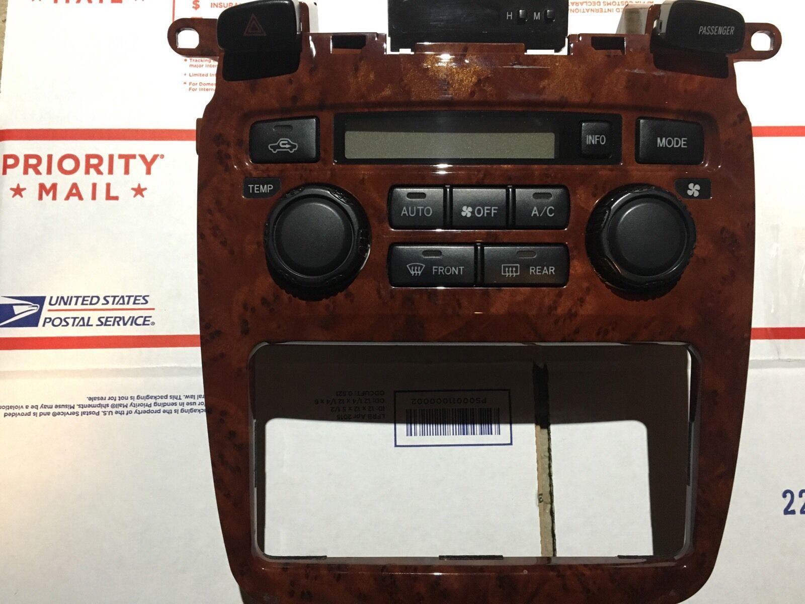 Used Toyota Highlander A  C  U0026 Heater Controls For Sale