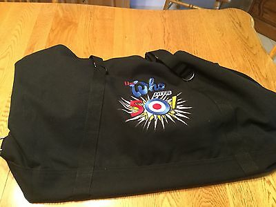 Who VIP Duffle Bag NEW Embroidered with Who Hits 50 Logo
