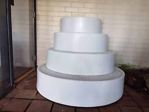 Wedding cake pool stairs Lugarno Hurstville Area Preview