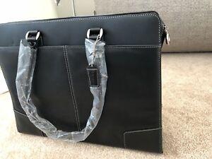 Leather Targus Laptop Bag