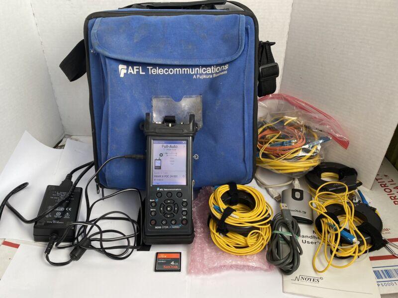 AFL Noyes M200 Quad OTDR Bundle  Fiber Optic Tester VFL SM MM