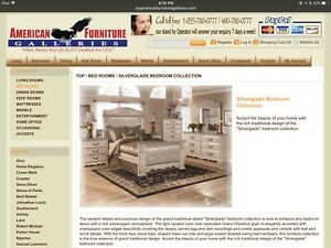 In search of Silverglade Mansion bedroom set by Ashley furniture