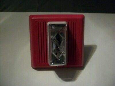 Fire Alarm Indoor Strobe Speaker Horn With Out Brackets Used