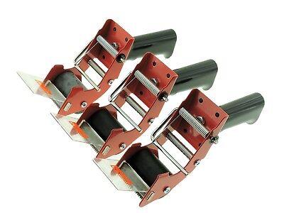 3pk 2 Packing Tape Dispenser Gun Mousetrap Packaging Shipping Carton Sealing