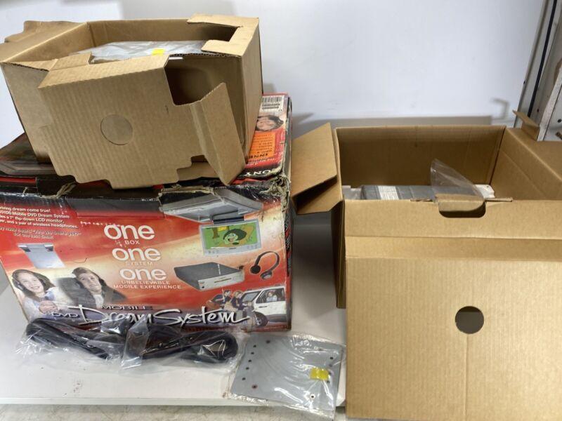 Sony MV-7101DS Mobile DVD Dream System, New in Opened Box MISSING HEADPHONES
