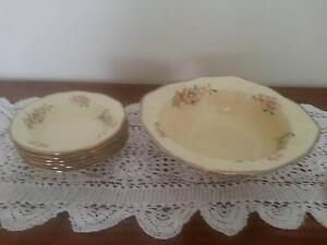 LARGE BOWL & 6 SWEET BOWLS  J&G MEAKIN   $25.00 Noosaville Noosa Area Preview