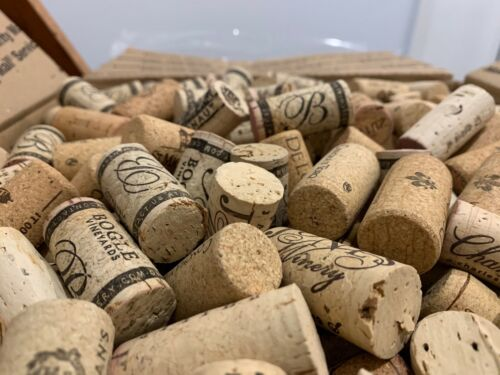 NATURAL WINE CORKS FOR CRAFTING 500/ BOX - ALL PROCEEDS PLANT TREES