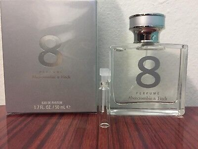Abercrombie & Fitch 8 Perfume for Women 1ml Samples free ship BUY 2 GET 1 FREE for sale  New York