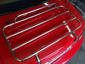 Gepäckträger Edelstahl passend für Mazda MX-5 NA